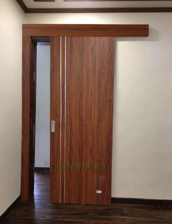 Mẫu cửa gỗ trượt