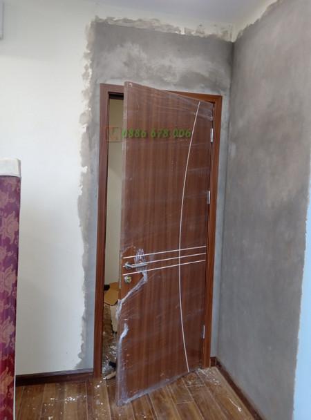 cửa gỗ soi chỉ cong