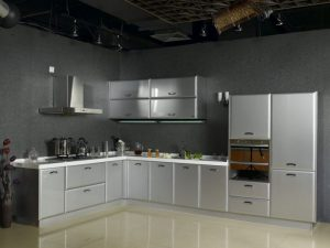 vật liệu làm tủ bếp bằng inox