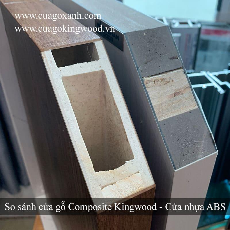 So sánh cửa composite và cửa ABS