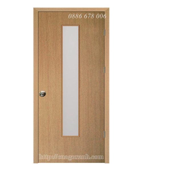 Cửa gỗ ô kính dài